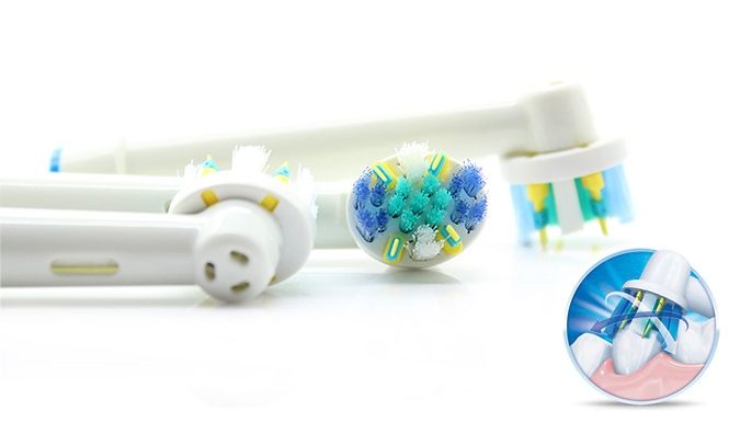 Oral B Compatible Floss Action Toothbrush Heads