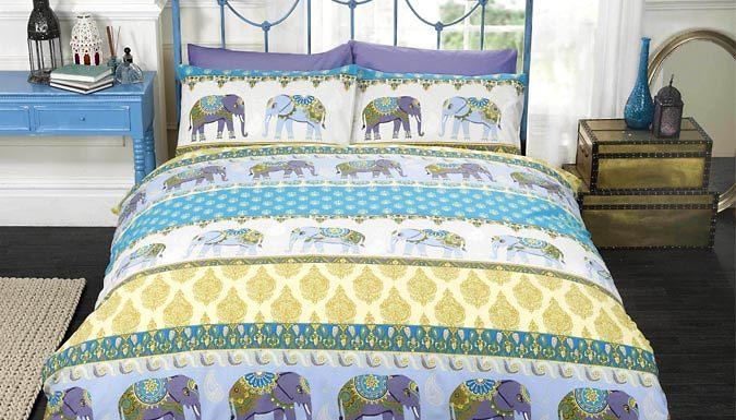 Jaipur Duvet Set  3 Sizes 4 Colours