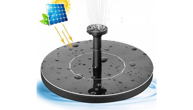 Mini Solar Floating Water Fountain