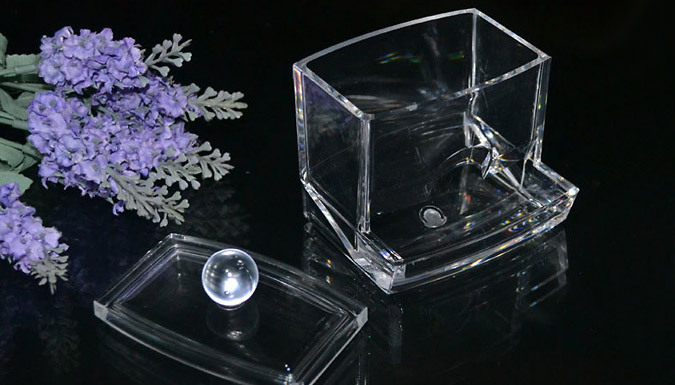 Acrylic Storage Box; For Cotton Buds, Make Up and More
