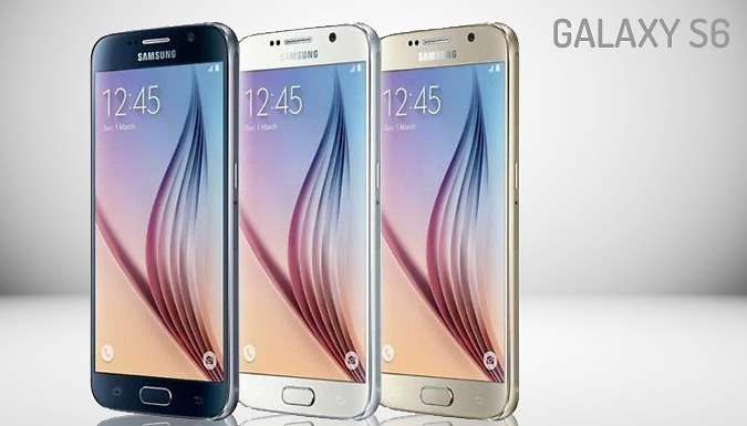 32GB Samsung Galaxy S6 or S7 - 5 Colour Options