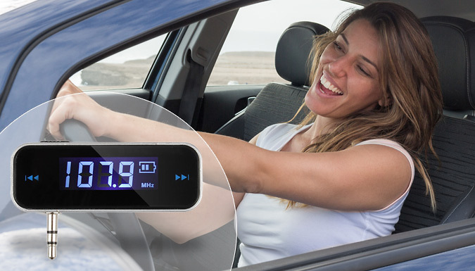 Car Stereo Smartphone FM Transmitter