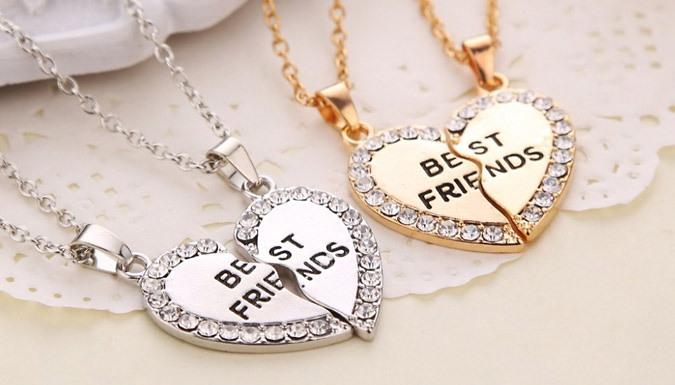 Best Friends Necklace - 2 Colours