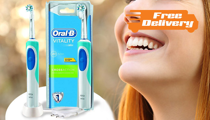 Oral-B Pro Vitality Cross Action Electric Toothbrush