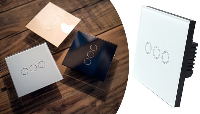 Compare retail prices of 1, 2 or 3 Gang Smart WIFI Light Dimmer - 3 Colours to get the best deal online