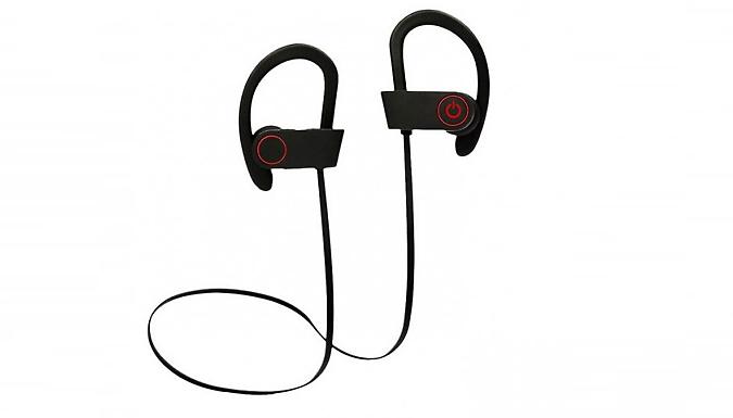 Noise-Cancelling Waterproof Bluetooth Headphones
