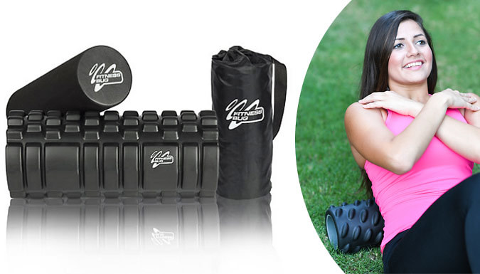 2-in-1 Foam Roller With Carry Bag