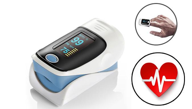 Fingertip Pulse Oximeter Monitor