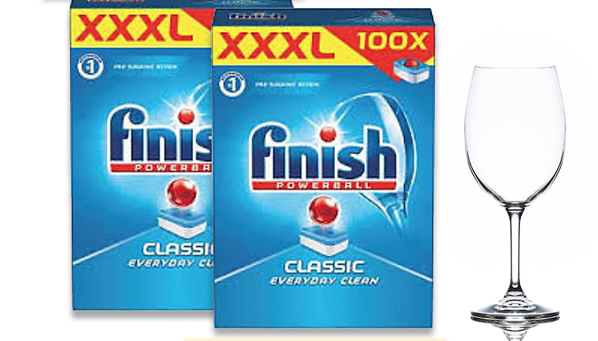 Finish Powerball Dishwasher Tablets - 100 or 200!