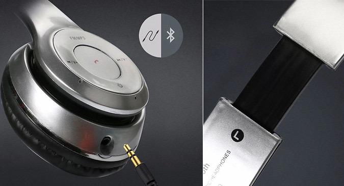 Foldaway Wireless Headphones - 6 Colours