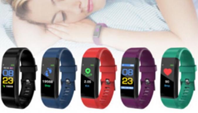 115 Plus Fitness Tracker Smart Watch - 5 Colours