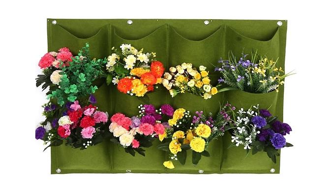 Non-Woven Pocket Wall Planter - 7 Sizes & 2 Colours