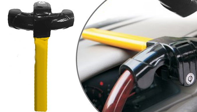 Heavy-Duty Anti Theft Steering Wheel Lock