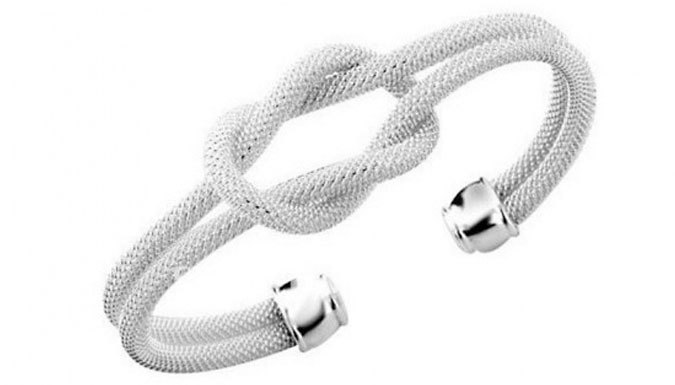 18K Love Knot Cuff