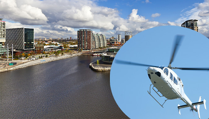 25-Mile Helicopter Tour - 11 UK Cities