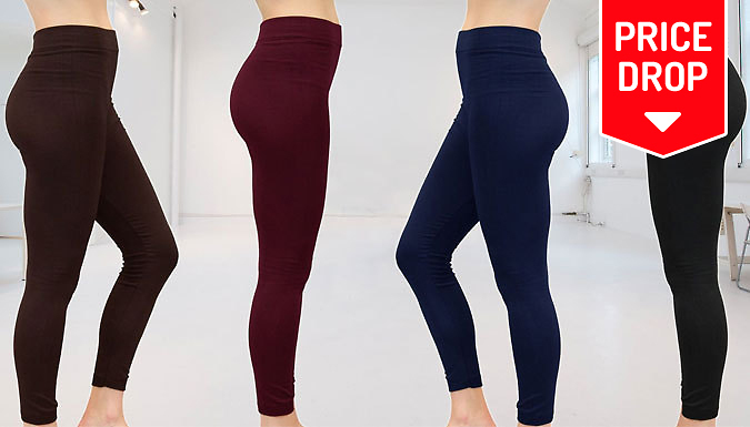 Ladies / Unisex Fleece Lined Leggings