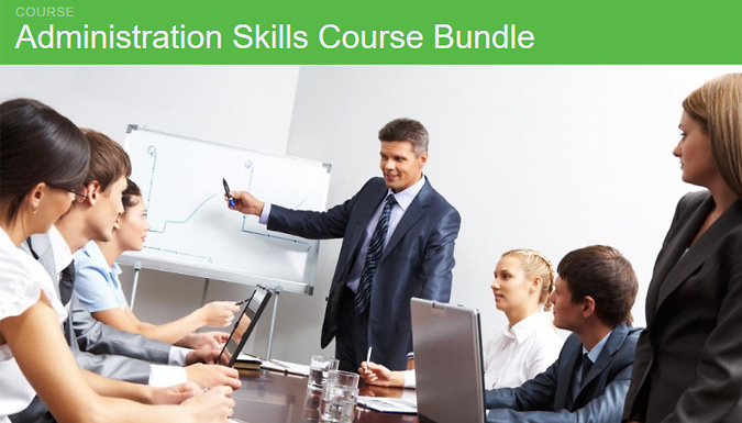 Administration Skills 9 Course Bundle from GoGroopie