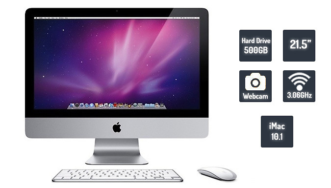 Refurbished Apple iMac 21.5 Inch  Keyboard and Mouse