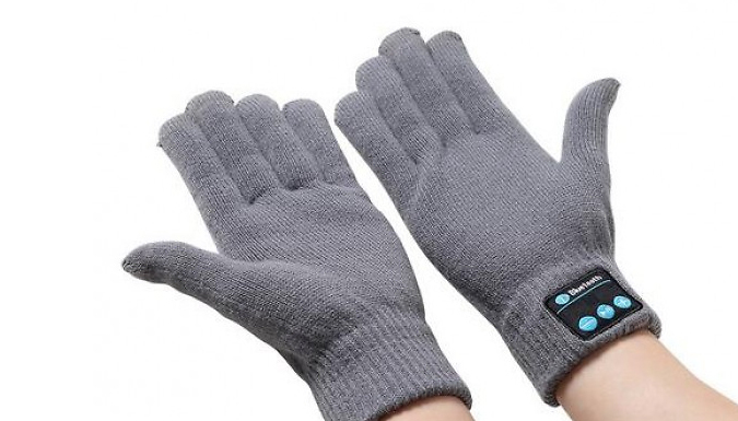 Bluetooth Touch Screen Gloves - 4 Colours