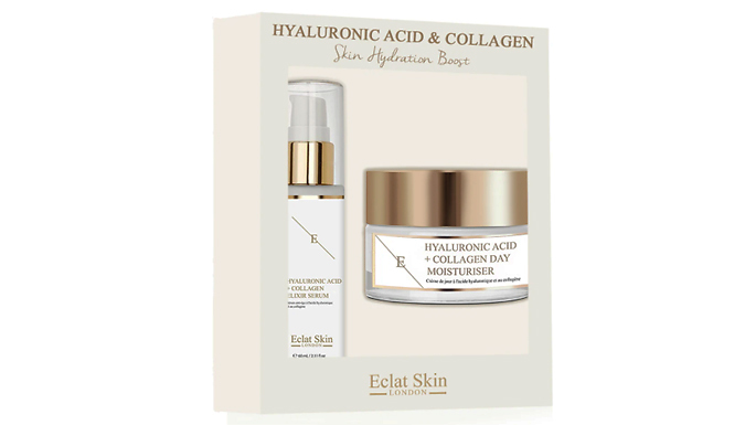Hyaluronic Acid & Collagen 'Skin Hydration Boost' Giftset