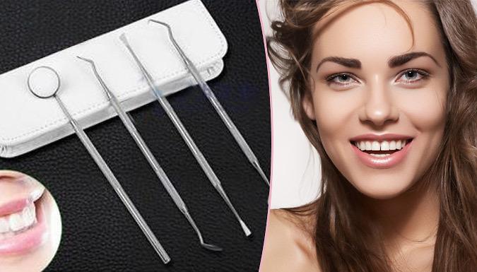 4-Piece Dental Hygiene Kit