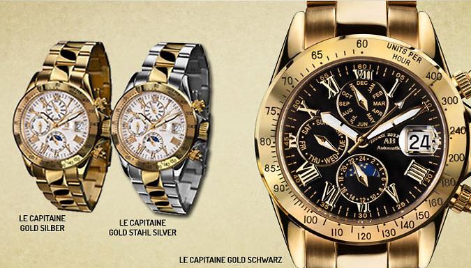 André Belfort le Capitaine Watches - 6 Designs
