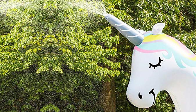 Giant 6ft Inflatable Unicorn Sprinkler (£29)