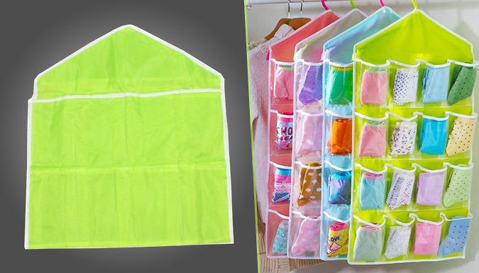 Hanging Closet Organiser - 4 Colours
