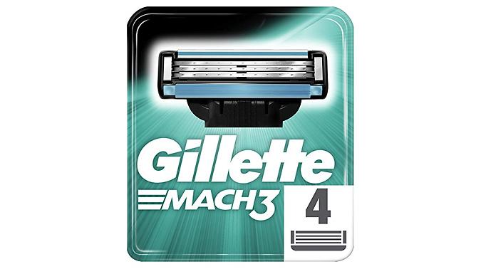 Up to 16 Gillette Fusion, Mach3, Skinguard, Venus or SkinGuard Blades - Optional Razor!