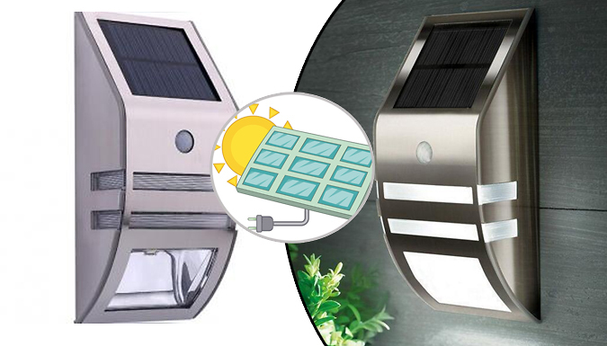Compare retail prices of 1 or 2 Solar-Powered Motion Sensor Lights to get the best deal online