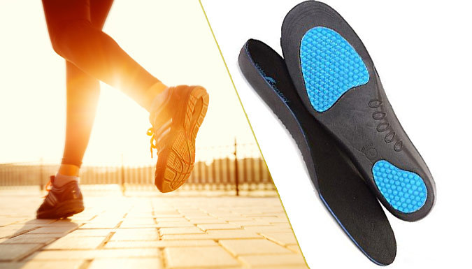 Orthotic Support Insoles - 1 or 2 Pairs