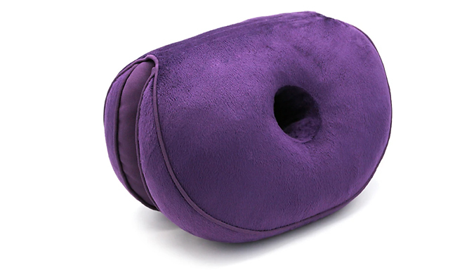 Dual-Comfort Posture Support Cushion - 6 Colours