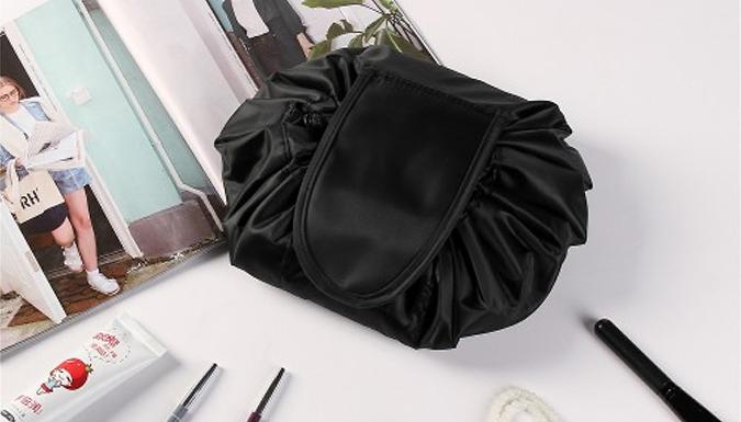 Drawstring Travel Cosmetic Bag