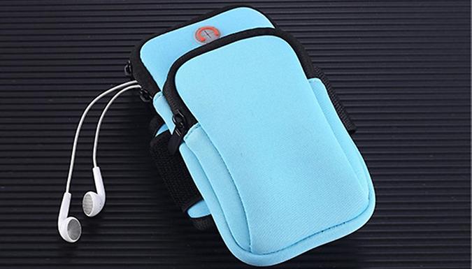 Sports Mobile Arm Pouch – 5 Colours (£3.99)
