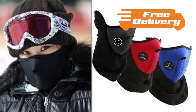 Neoprene Ski Mask  3 Colours Free Delivery!