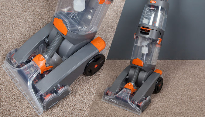 Vax Dual Power Pro Upright Carpet Cleaner