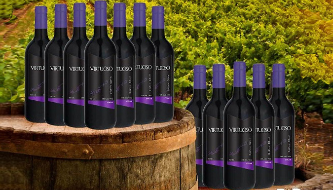 12 Bottle Selection of Red Wines – 7 Options (£37.99)