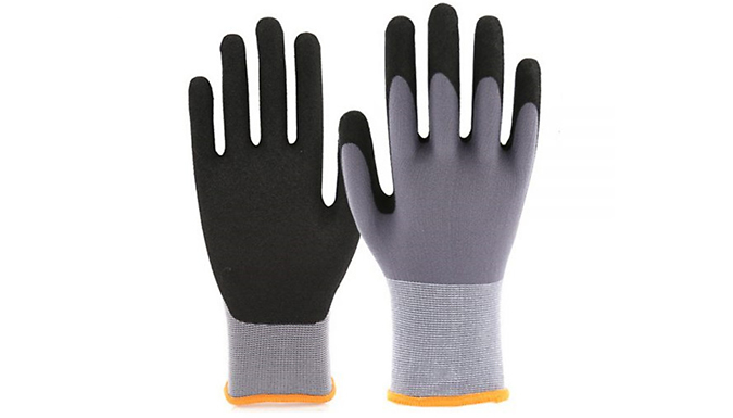 Heavy-Duty Garden Gloves - 5 Sizes