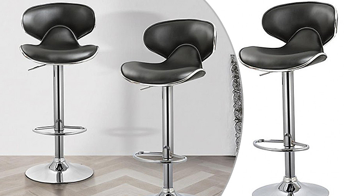 Compare retail prices of 1 x Breakfast Bar Stool - White or Black to get the best deal online