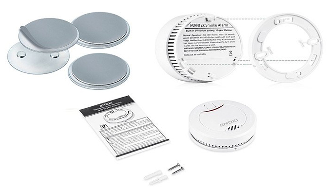 Compare retail prices of 'Smoki' Photoelectric Smoke Detector With 10-Year Battery Life to get the best deal online