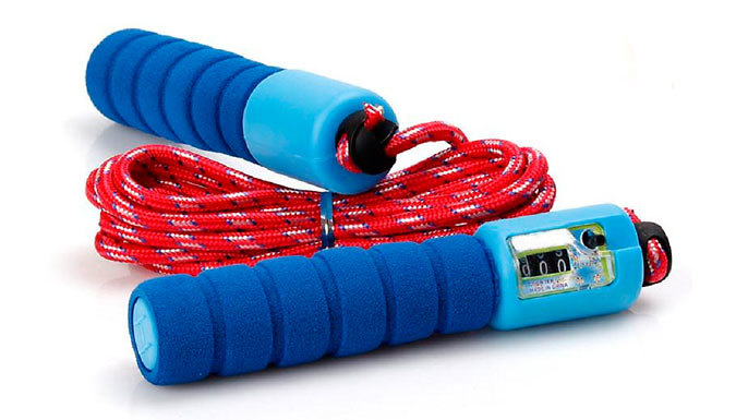 Adjustable Skipping Rope - 4 Colours