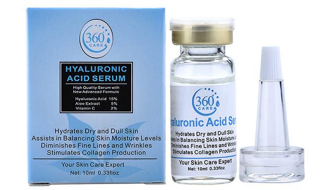 Hyaluronic Acid Serum - 1, 2 or 3 Pack