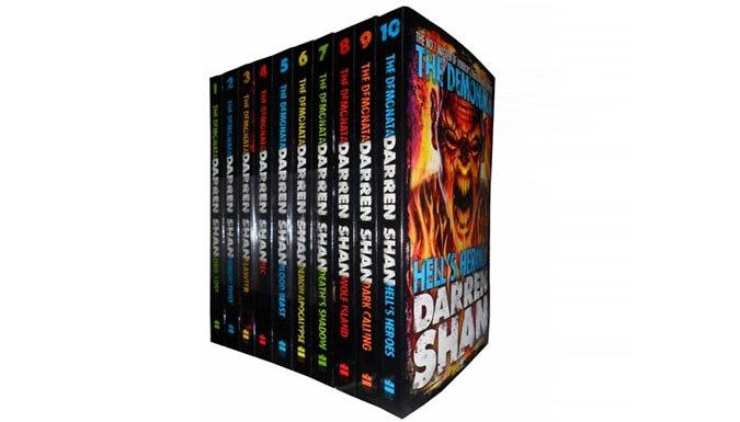Darren Shan Demonata 10-Book Set