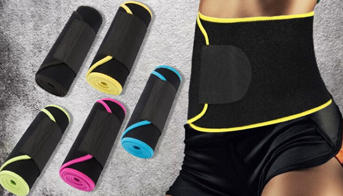 Waist-Trimmer Sauna Belt
