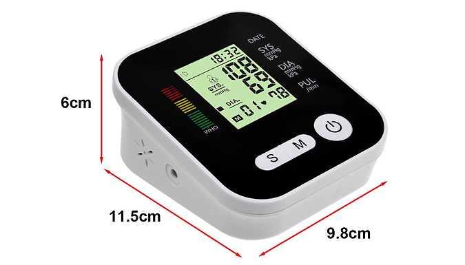 4-in-1 Blood Pressure Monitor with LCD Display + Voice Function from Domosecret