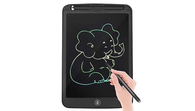 10-Inch Digital Colour Drawing Pad - 3 Colours