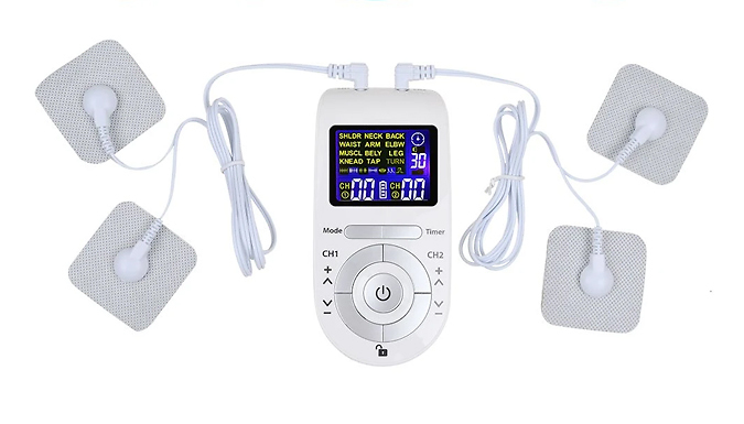 TENS & EMS Muscle Therapy Device from Wish Whoosh Offers