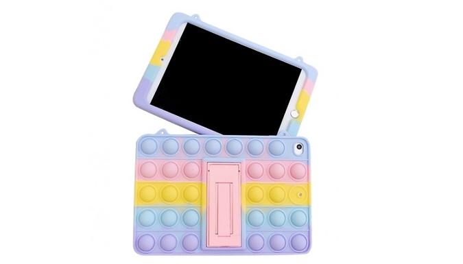 Rainbow Bubble-Pop Fidget Cases - 13 Sizes