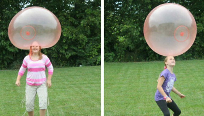 Giant Inflatable Bubble Ball - 3 Colours!