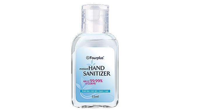 4-Pack of 70% Alcohol Hand Sanitiser from KAV PLUS
